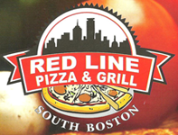 Red Line Pizza & Grill logo